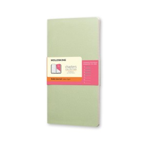 Notes Moleskine Chapters Journal (Ruled - Mint)