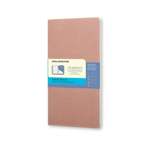 Notes Moleskine Chapters Journal Pocket (Dotted - Light Pink)
