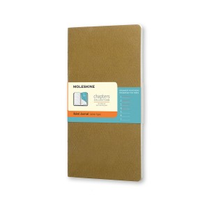 Notes Moleskine Chapters Journal (Ruled - Olive)