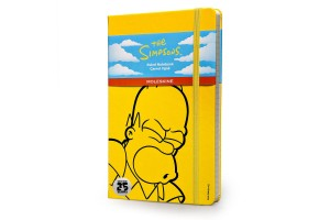 MOLESKINE Notes duży Simpsons w linie - The Simpsons - Limited Edition Notebook - Large - Ruled - Yellow hard cover