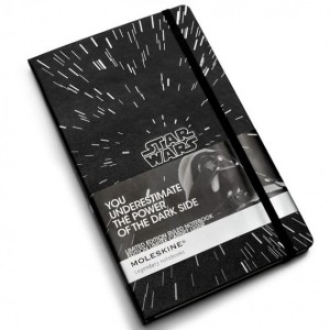 Moleskine Notes Kieszonkowy - Star Wars - P Linie- Star Wars Limited Edition Notebook Plain Pocket