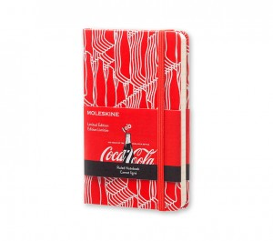 Moleskine Notes Kieszonkowy - Coca-Cola - P Linie- Coca-Cola Limited Edition Notebook Plain Pocket