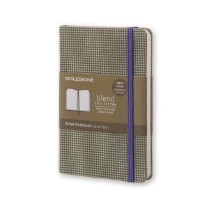Notes Moleskine BLEND P linie zielony