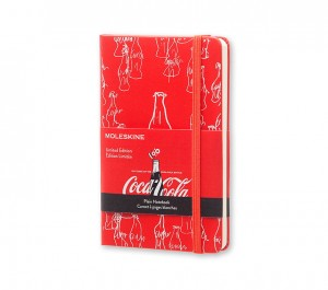 Moleskine Notes Kieszonkowy - Coca-Cola - P Gładki- Coca-Cola Limited Edition Notebook Plain Pocket