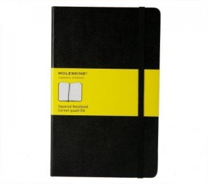 Notes  Moleskine Squared Notebook Carnet quadrille